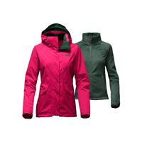 campera softshell north face mujer